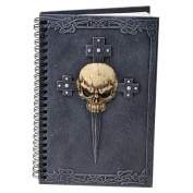 Design Toscano Gothic Skull Cross Secret Journal