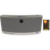 AURA BluNote Bluetooth Wireless Speaker, Silver
