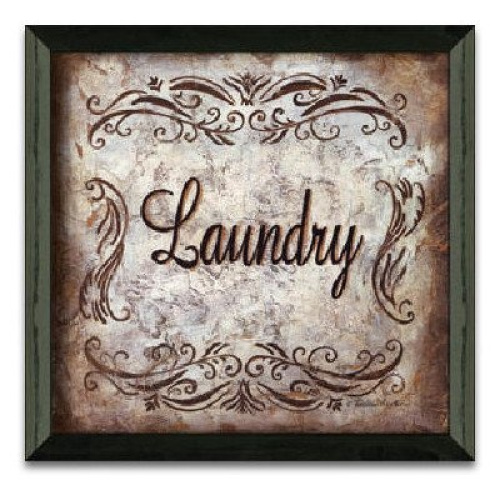 timeless frames laundry 12x12 art print in solid wood frame eco friendly made in ebay. Black Bedroom Furniture Sets. Home Design Ideas
