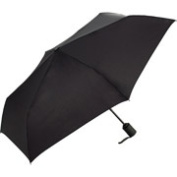 ShedRain WindPro Flat Vented Auto Open & Close Umbrella - Black