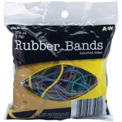 Rubber Bands 45ml-Assorted Colours & Sizes