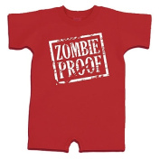 Redsnapper Baby 32012-RD-18 Size 18 Month Zombie Proof Romper - Red