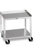 Chattanooga 4002 Model MB - Stainless Steel Cart