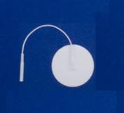 Pepin WF2 Advantrode Foam - 5.1cm Round Prewired Electrode - 20 Packs Of 4