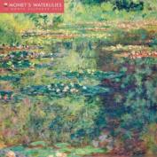 Monet's Waterlilies wall calendar 2014