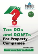 Tax DOS and Don'ts for Property Companies 2013-14