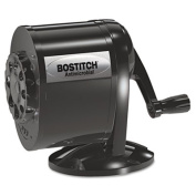Stanley Bostitch MPS1BLK Table-Mount/Wall-Mount Antimicrobial Manual Pencil Sharpener Black