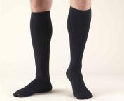Truform 1944BN-M Mens 20-30 mmHg Dress Knee High Socks - Size- Medium Color- Brown