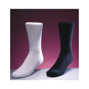 Medicool DIALB Diasox-Large Black Diabetic Socks