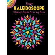 Dover Publications-Kaleidoscope Stained Glass Book