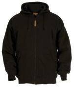 Berne Apparel SZ101BKR560 3X-Large Regular Original Hooded Sweatshirt Thermal Lined - Black