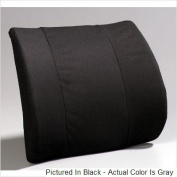 A6006GR Premium Lumbar- Flat Back moulded foam-Grey