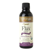 Spectrum Eseentials 40501 Organic Flax Oil Enriched With Lignan