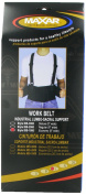 MAXAR Work Belt - Industrial Lumbo-Sacral Support (Economy w/o Suspenders) - Large