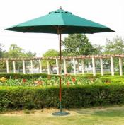 International Concepts 49163 Market Umbrella - 9 ft. - Wooden Pole
