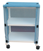 MJM International E325-2C Echo Linen Cart