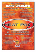 Techniche 5540_10pack Heat Pax Air Activated Body Warmers - 10 Packs