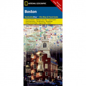 National Geographic DC00620541 Map Of Boston