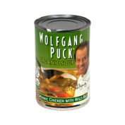 Wolfgang Puck Organic Soup, Chicken with Wild Rice, 430ml