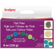 Polyform 474414 Sculpey Mould Maker 240mls-Pkg-Cream