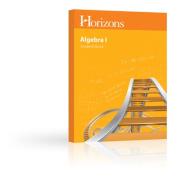 Alpha Omega Publications JMS081 Horizons Math 8 Student Book