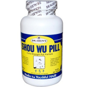 Dr. Shens 0934851 Shou Wu Youthful Hair Pill - 700 mg - 200 Tablets
