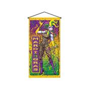 Beistle - 50383 - Mardi Gras Door-Wall Panel- Pack of 12