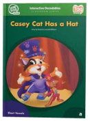 Leap Frog 90566 Tag InterACTIVE Decodable Level 1 Book Casey Cat Has a Hat