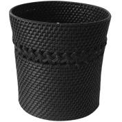 Elegant Home Fashions 90306 Sebrina Wastebasket - Dark Espresso