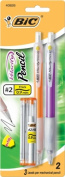 Bic Usa Inc BICMVP21 Bic Velocity Pencils .9Mm 2Pk Blister