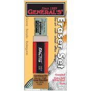General Pencil 386531 Eraser Set