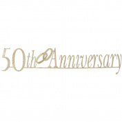 Photogenix Laser Die-Cuts 7.6cm x 30cm -50th Anniversary