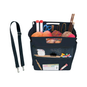 BagSmith 9260 BagSmiths Famous Canvas Project Bag-30cm . x 30cm . x 23cm . Black