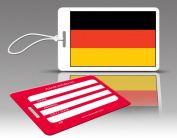 Insight Design 770550 TagCrazy Luggage Tags- Germany Flag- Set of Three