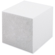 Smooth Foam Cube 13cm 1/Pkg-White