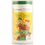 Macrolife Naturals 1064583 Jr. Macro Coco-Greens for Kids Chocolate - 420ml