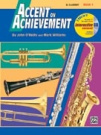 Alfred Publishing 00-17084 Accent on Achievement Book 1 - Music Book