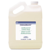 Dermabrand 430EA Antibacterial Liquid Soap- Unscented Liquid- 3.8lBottle