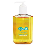 Gojo 975212CT MICRELL Antibacterial Lotion Soap Unscented Liquid 240ml Pump 12/ctn