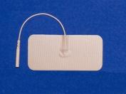 Pepin BWT13 Advantrode Skin Friendly Blue Gel Electrode - 4.4cm X 9.5cm Rectangle - 20 Packs Of 4