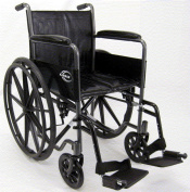Karman KN-800T Standard Deluxe Wheelchair with Fixed Full Armrests