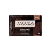 Dagoba Organic Chocolate 20408 Organic Unsweetened Dark Chocolate Baking Bar