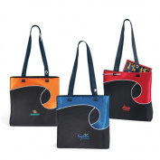 Golden Pacific 42069R Swirly Tote - Red