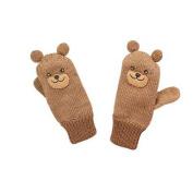 Kidorable Little Boys' Bear Mittens