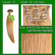 Brybelly Holdings PRST-10-1822 No. 18-22 Dark Blonde with Light Highlights - 25cm
