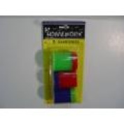 TAPE IT 351832 Pencil Sharpners - 3 Pack- Case of 48