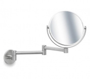 Blomus 68389 stainless steel wall-mounted cosmetic mirror