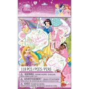 Disney Princess Cardstock Die-Cuts 118/Pkg-
