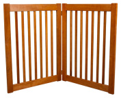 Dynamic Accents 42622 32 in. 2 Panel Free Standing EZ Gate - Artisan Bronze
