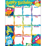 Trend Enterprises Inc. T-38452 Happy Birthday Owl Stars Learning Chart